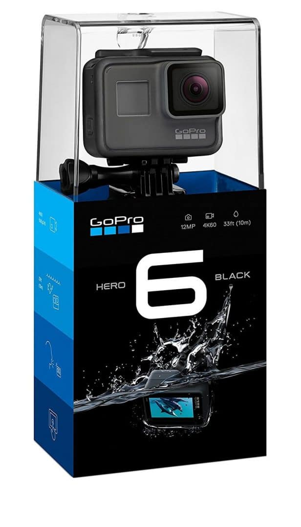 GoPro Latest Version Hero 6 Sports and Action Camera (Black 12 MP)