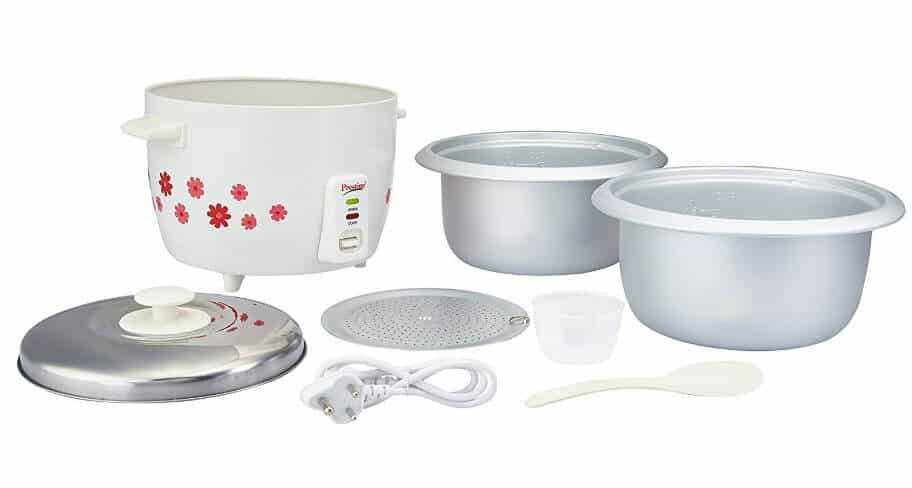 Prestiage Electric Rice Cooker bowls