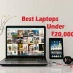 Best budget Laptops under 20000