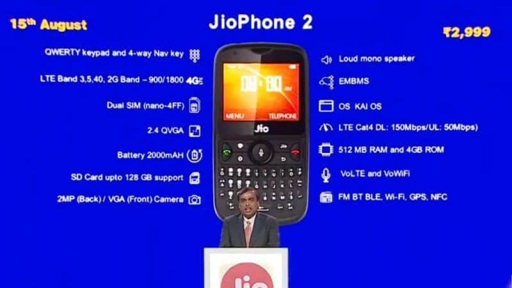 jio mobile 2 images