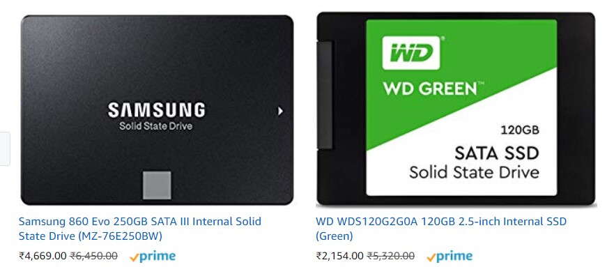 Solid State Drives, SSD Low Price Buy online