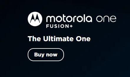 motorola one fusion plus specifications