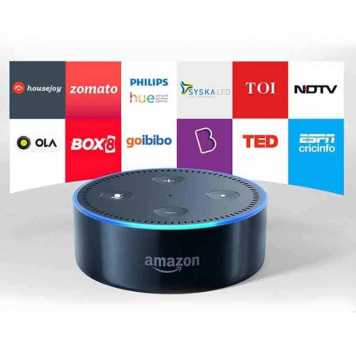 Echo Dot 2nd Generation Smart Speaker with Alexa App Low price In India