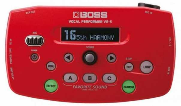 Boss VE-5 Vocal Performer