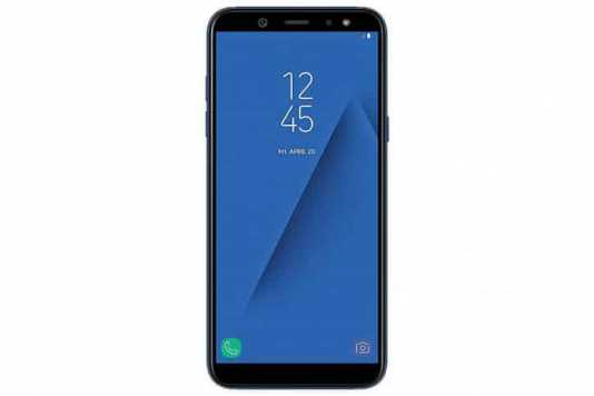 Samsung Galaxy A6 (Blue, 32GB) with Offers