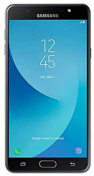 Samsung Galaxy J7 Max1 black front